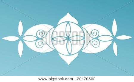 funky celtic like pattern vector