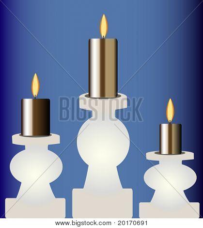 vector de velas