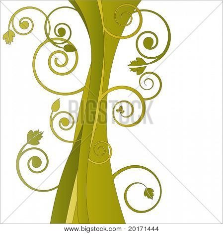 too fun tree trunk vector