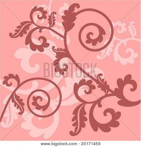 victorian filigree vector
