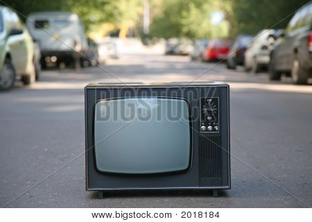 The Old Television Set