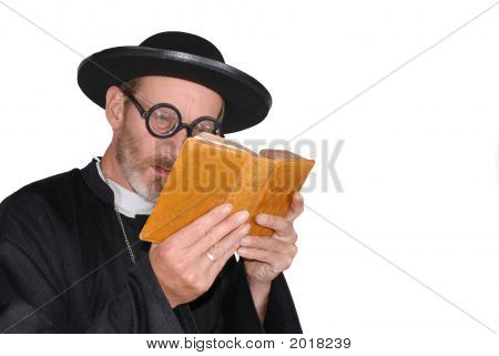 Priest With Bible