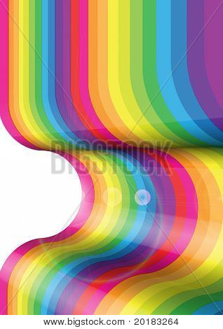 Convex Rainbow Surface