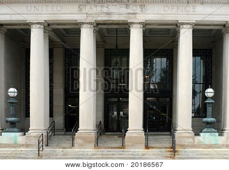 Post Office Portico