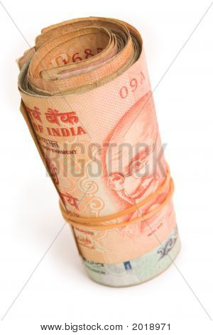 Roll Of Rupees