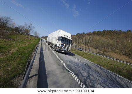 truckin in the countryside