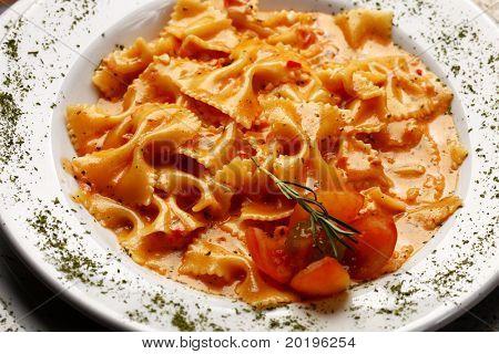 Pasta  bowtie