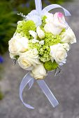 pic of bridal shower  - wedding flowers - JPG