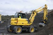 picture of jcb  - bulldozer - JPG