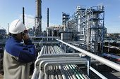 stock photo of refinery  - oil - JPG