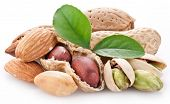 foto of mixed nut  - Peanuts - JPG