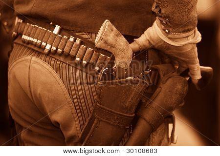 cinturón de pistola