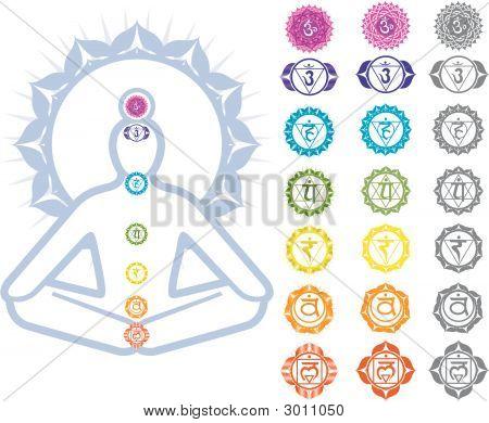 Chakren Symbole