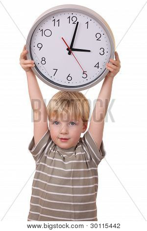Boy With A Clock