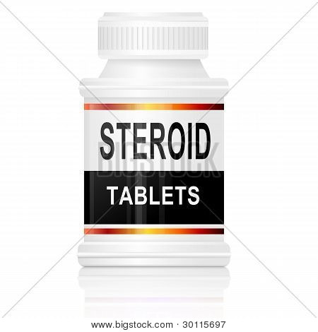 Steroid Tablets.