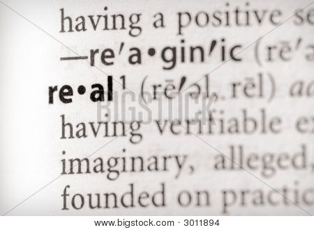 Dictionary Series - Attributes: Real