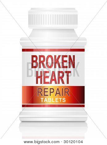 Mending A Broken Heart.