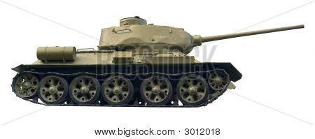 Battle Tank Cutout