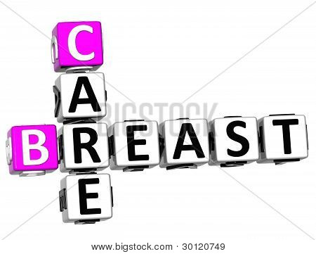 3D Breast Care Crossword