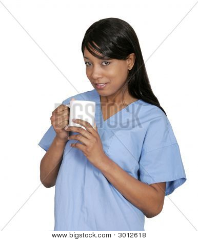 Doctor Drinking Coffee