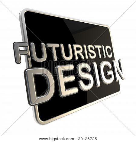 Screen computer pad as a futuristic design