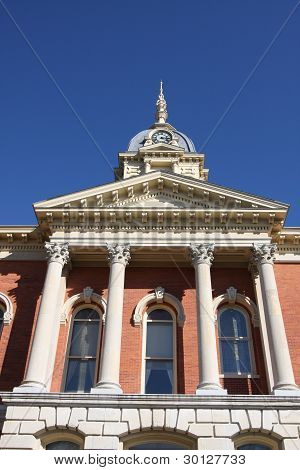 Marshall County Courthouse In Plymouth Indiana