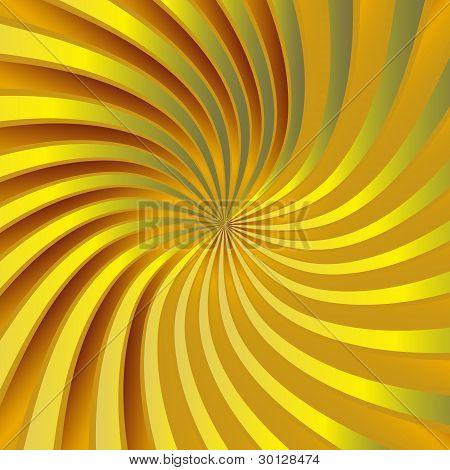 Yellow spiral vortex