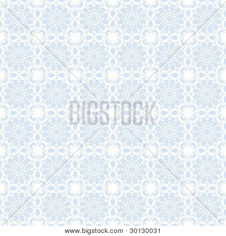 Pale Blue Kaleidoscope Background