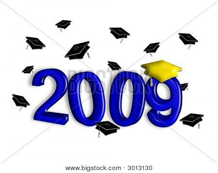 Graduation 2009 - Blue