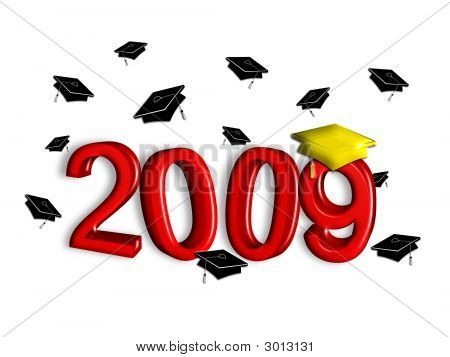 2009 Graduation - Red