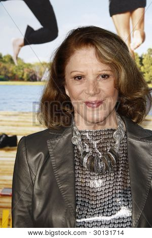 LOS ANGELES, CA - FEB 16: Linda Lavin at the premiere of Universal Pictures' 'Wanderlust' held at Mann Village Theatre on February 16, 2012 in Los Angeles, California