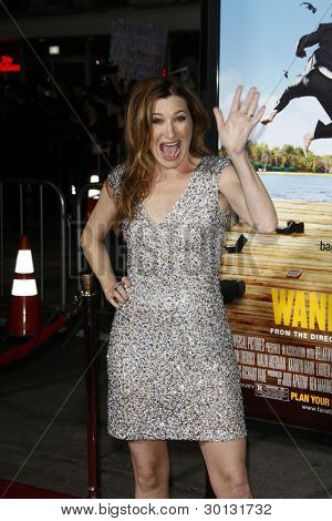 LOS ANGELES, CA - FEB 16: Kathryn Hahn at the premiere of Universal Pictures' 'Wanderlust' held at Mann Village Theatre on February 16, 2012 in Los Angeles, California