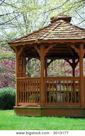 Gazebo Close Up