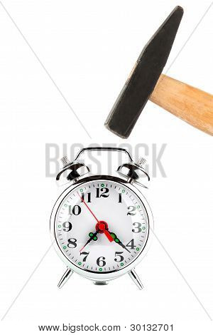 Hammer With Alarm Clock