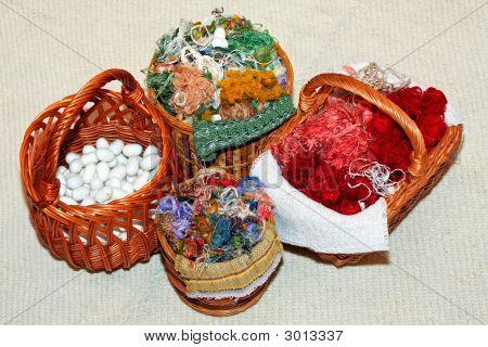 Silk In Basket