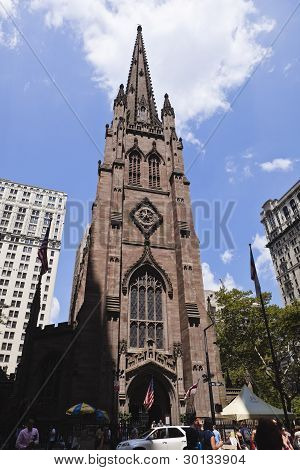 new york: trinity church