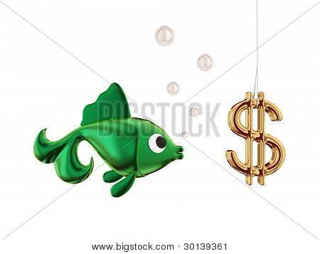 Dollar bait.
