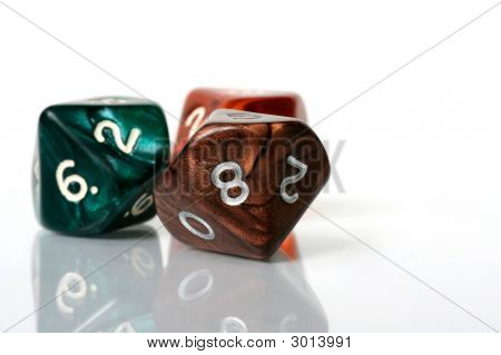 Eight Sider Dice