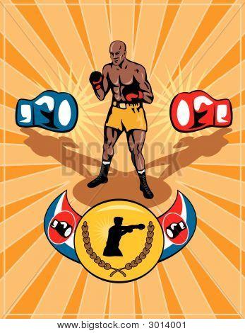 Boxing Belt Poster
