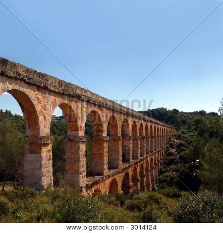 Pont Del Diable In Tarragona