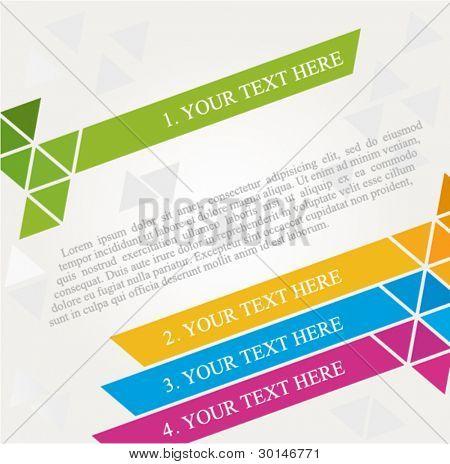 brochure design diagonal