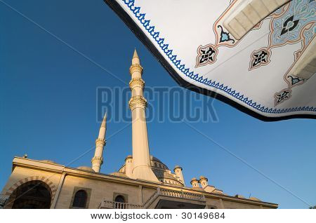 Haci Veys Zade is the biggest mosque in Konya, Turkey