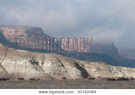Badlands near Grand Junction, Colorado
