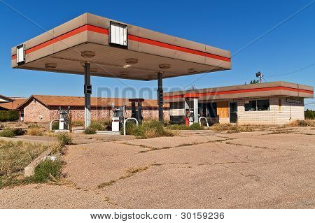 Vacant Service Station