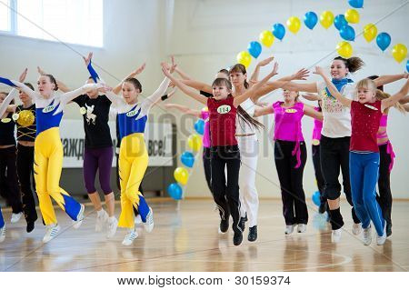 Aerobics And Fitness