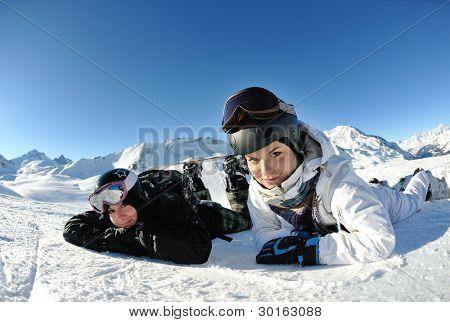 winter woman  ski  sport  fun  travel  snow board