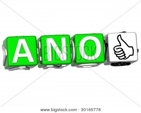 The Word Ano - Yes In Many Different Languages.