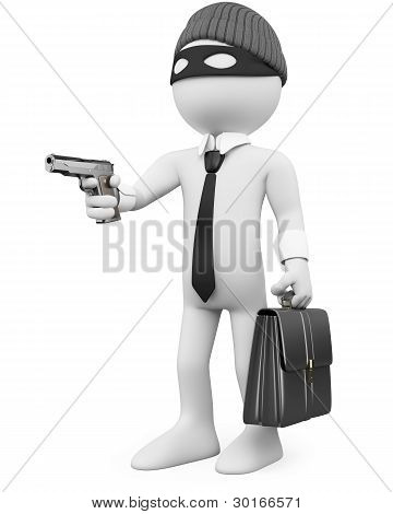 White-collar Criminal With A Gun
