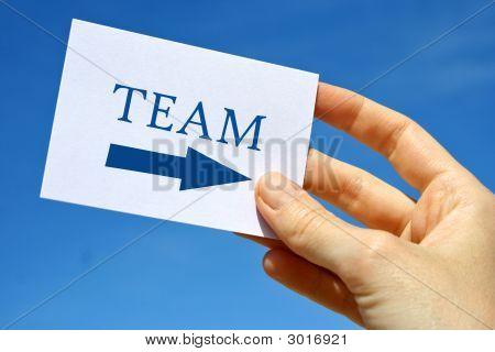 Team Card