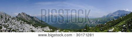 Italian Dolomites Panorama